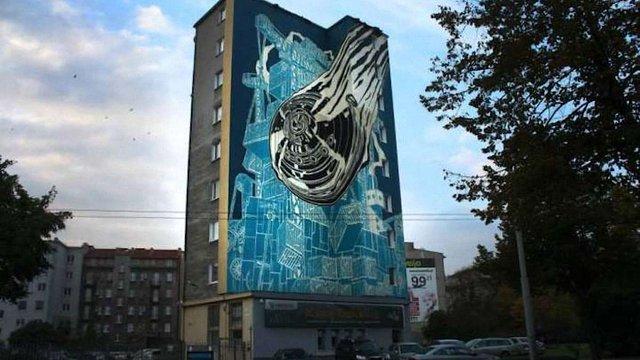 У галереї «Дзиґа» пройде виставка польського урбан-арту