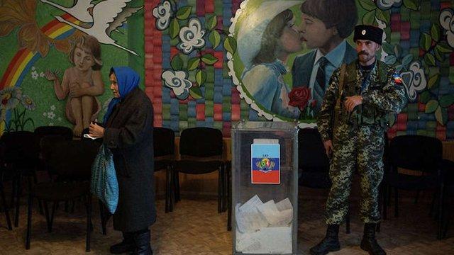На псевдовиборах ЛНР вже проголосувало більше тисячі людей, - російські ЗМІ