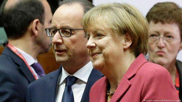 Берлін і Париж привітали газову угоду між Росією і Україною