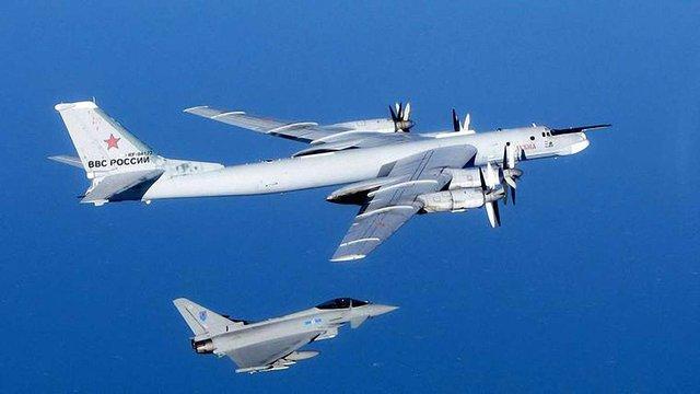 Британські винищувачі були підняті на перехоплення російських бомбардувальників