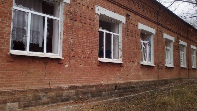 Бойовики розбомбили протитуберкульозний санаторій у Кримському, - Москаль