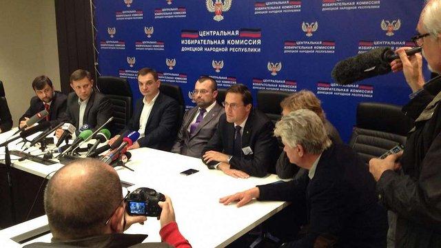Терорист Захарченко переміг на псевдовиборах «глави ДНР»