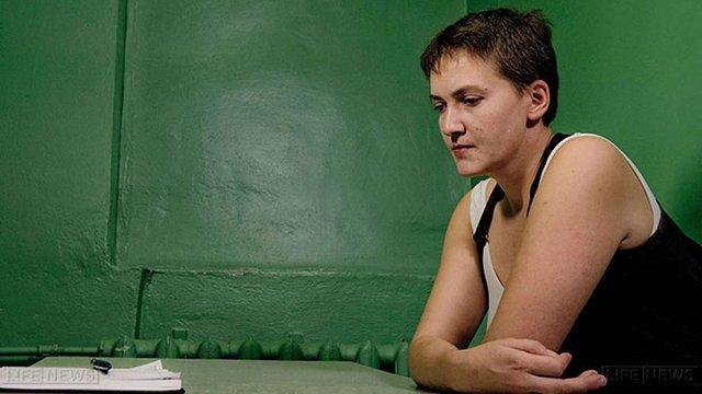 Суд Москви прийняв заяву Савченко про її особисту участь у завтрашньому засіданні
