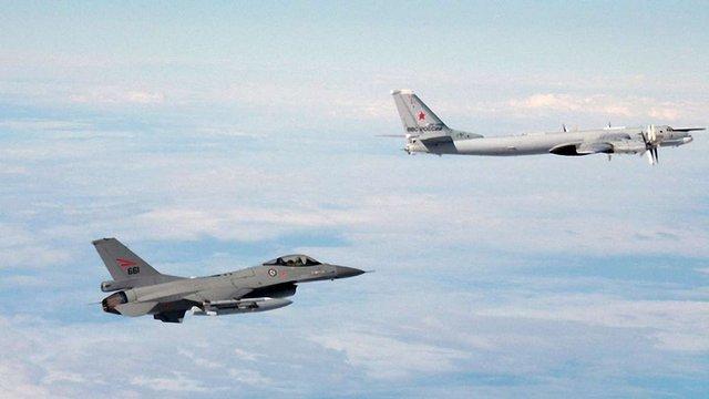 Винищувачі НАТО перехопили над Балтикою ще один російський військовий літак