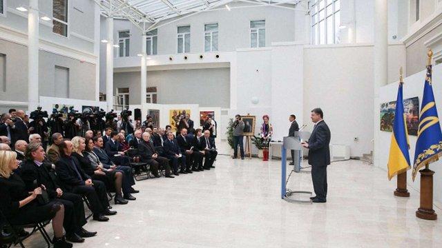 Президент вручив Шевченківську премію 2014 року видатним діячам культури