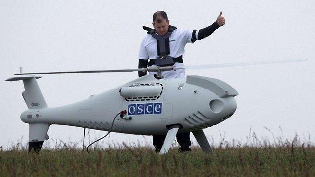 ОБСЄ припинила роботу своїх безпілотників на Донбасі через протидію бойовиків