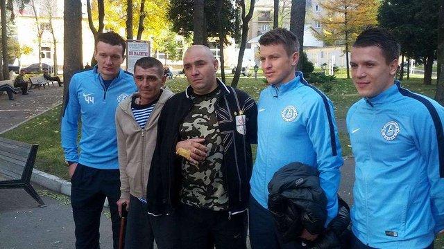 Коноплянка і Ротань відвідали поранених військових у Львові