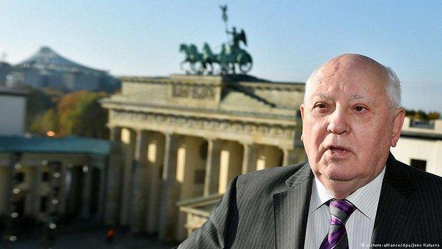 Горбачов підтримав Путіна і закликав зняти санкції з Росії
