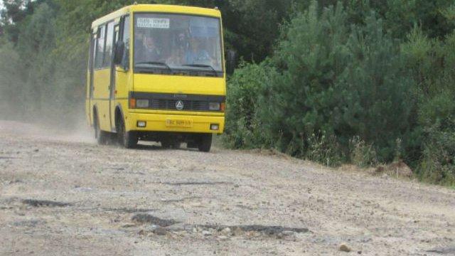 У 2015 році на Львівщині ремонтуватимуть дороги, які ведуть до кордону
