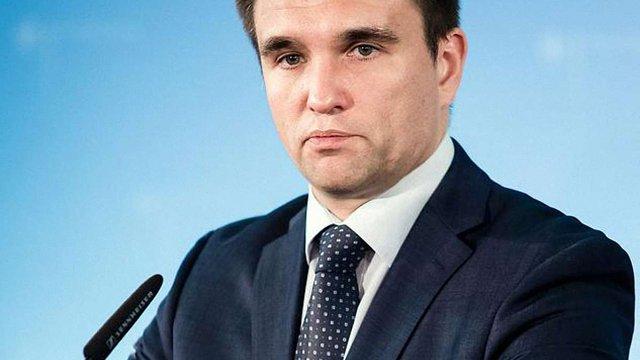 Клімкін: Україна буде повертати окуповані території політичним шляхом