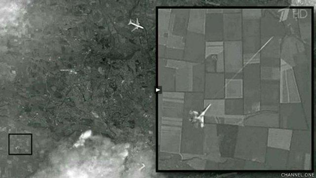 Блогери знайшли сотні доказів того, що фото MH17, яке показав Перший канал, - це підробка