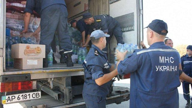 У Краматорськ доставлено 26 тонн гуманітарної допомоги, - РНБО