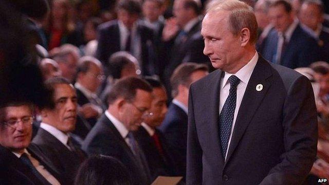 Володимир Путін достроково покинув саміт G20