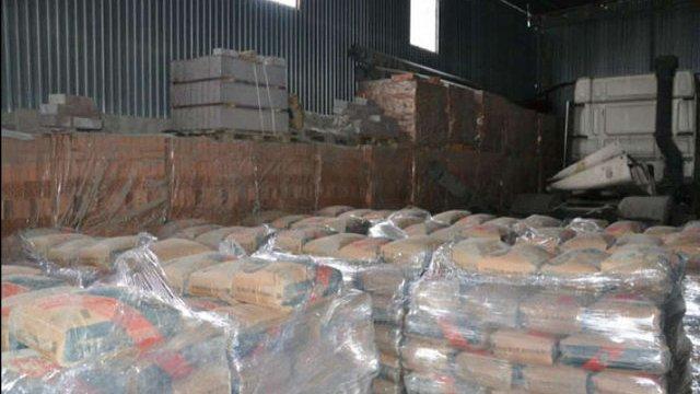 У Львові викрили міні-завод, на якому виготовляли фальсифікований цемент