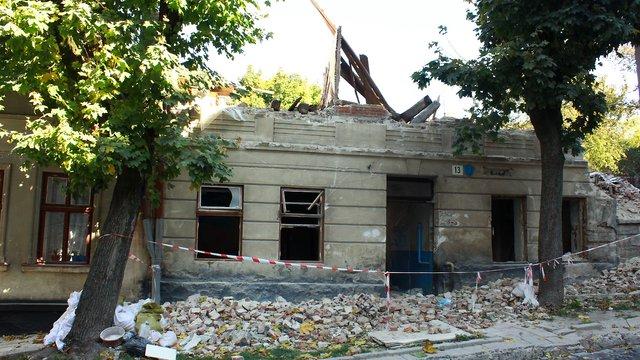У Львові через суд намагатимуться відновити зруйнований будинок по вул. Пісковій