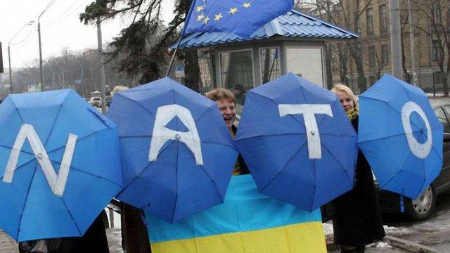 В Україні зросла кількість прихильників вступу до ЄС та НАТО