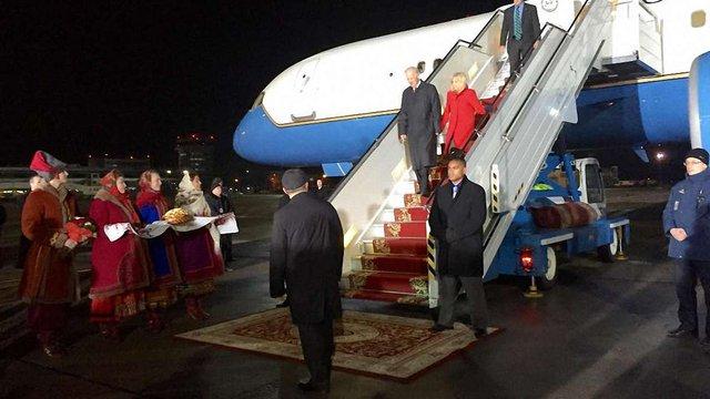 Віце-президент США прилетів до Києва з візитом