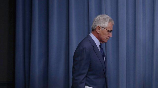 Міністр оборони США Чак Гейґел подав у відставку