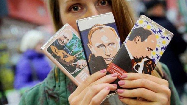 У Росії з'явився Путін в шоколаді: «Ніжний», «Добрий» і «Гіркий»
