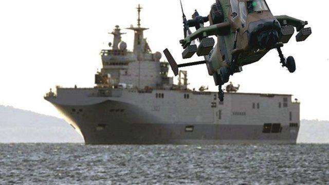 Росія погрожує припинити закупівлю озброєння в країн НАТО через ситуацію з «Містралями»
