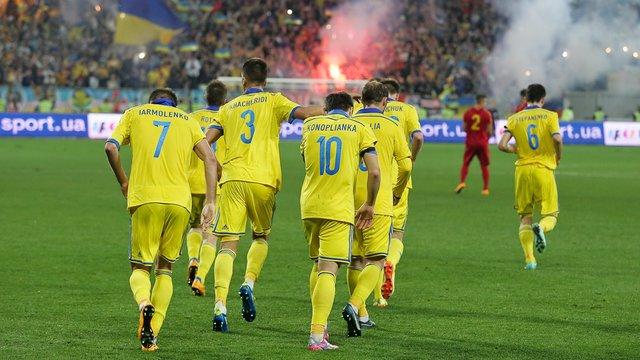 Збірна України втратила 7 позицій у рейтингу ФІФА