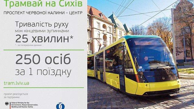 З 1 грудня у Львові стартує промоційна кампанія «Я люблю трамвай»