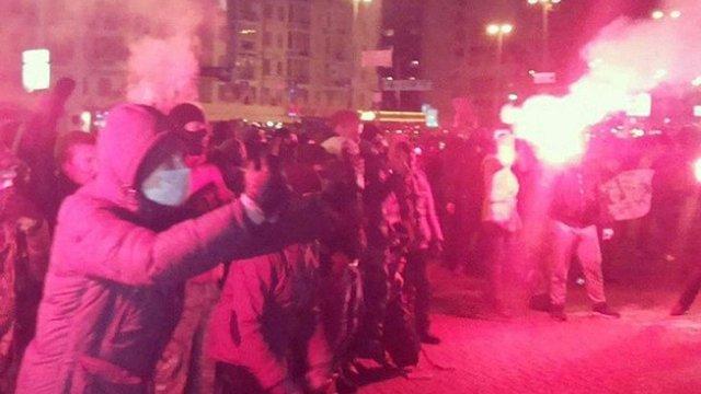 В результаті сутичок перед концертом Ані Лорак в Києві міліція затримала 4 людини