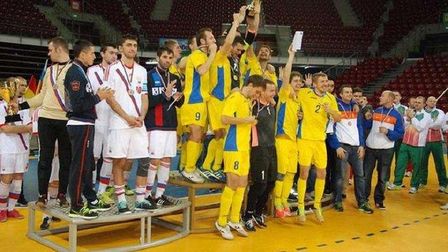 Збірна України обіграла росіян у фіналі чемпіонату Європи з футзалу