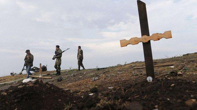 Майже 300 росіян загинули за день штурму позицій «кіборгів» у Донецьку