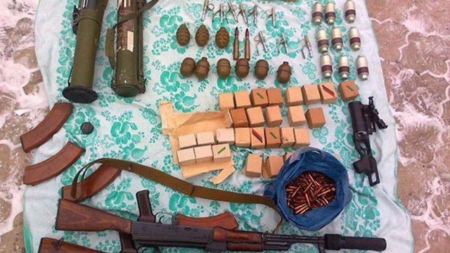 В Артемівську виявлено криївку терористів, - МВС