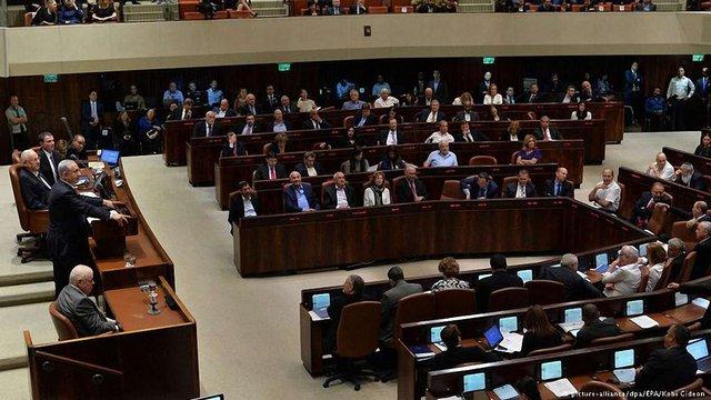 Ізраїльський парламент проголосував за саморозпуск