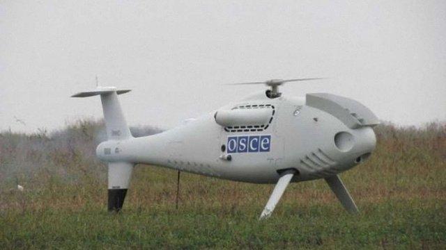 Терористи пробували збити безпілотник місії ОБСЄ біля Маріуполя