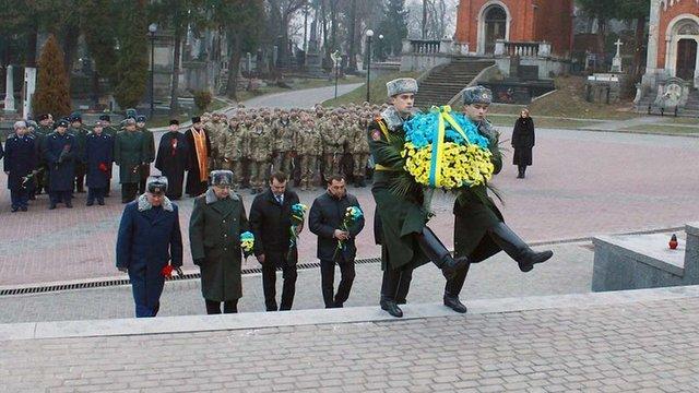 У Львові вшанували пам'ять загиблих бійців АТО