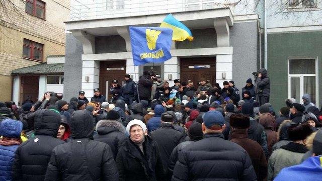 Під час заворушень біля Вінницької ОДА постраждали 8 людей, - МВС