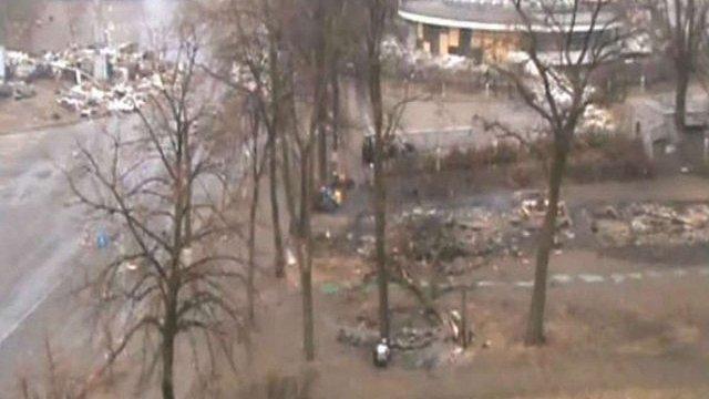 Оприлюднено нове відео розстрілу на Інститутській