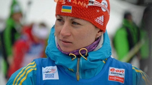 Валентина Семеренко фінішувала другою на етапі Кубка світу з біатлону
