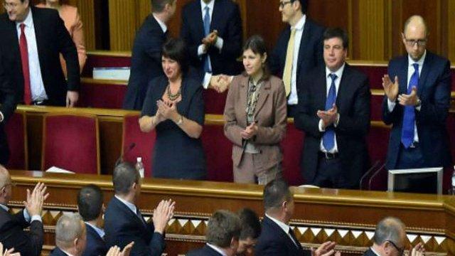 Верховна Рада затвердила програму діяльності уряду