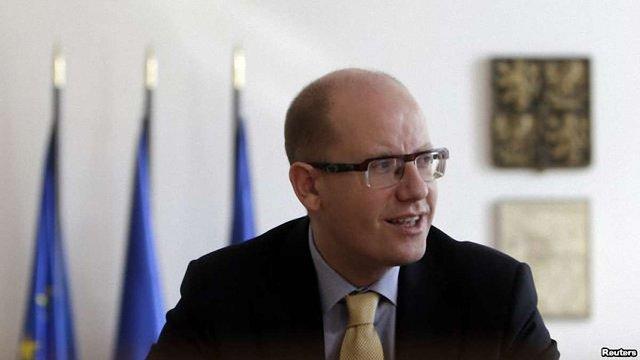 Прем'єр Чехії не підтримав ідею президента Земана про «фінляндизацію» України