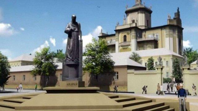 Виконком затвердив проект пам'ятника митрополиту Шептицькому у Львові