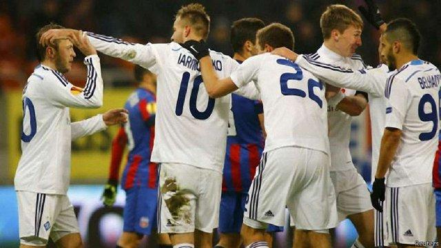 Київське «Динамо» ввійшло до трійки кращих команд групового етапу Ліги Європи
