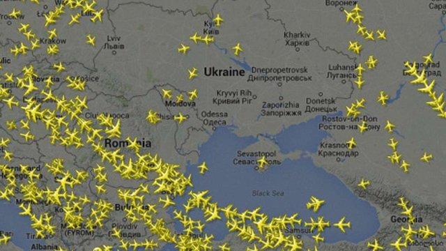 Небо над Дніпропетровськом закрили до понеділка, через загрозу теракту