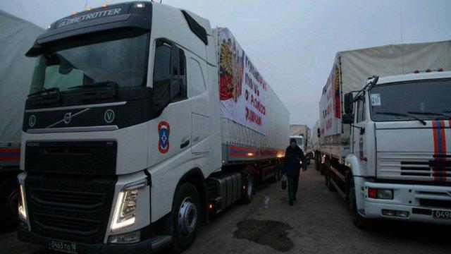 """В ОБСЄ розказали, що привіз на Донбас російський дев'ятий """"гумконвой"""""""