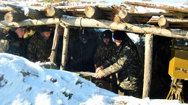 На Яворівському полігоні проходять вишкіл бійці тербатальйонів