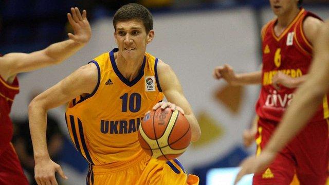 Український баскетболіст змагається за титул кращого молодого гравця Європи