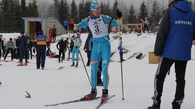 Біатлоніст із Новояворівська здобув першу в кар'єрі золоту медаль