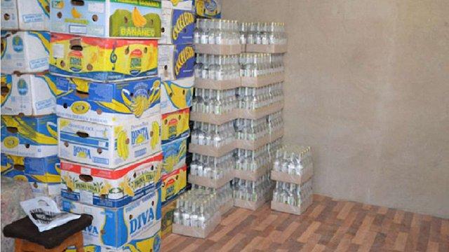 На Львівщині припинили діяльність двох цехів із виготовлення фальсифікованої горілки