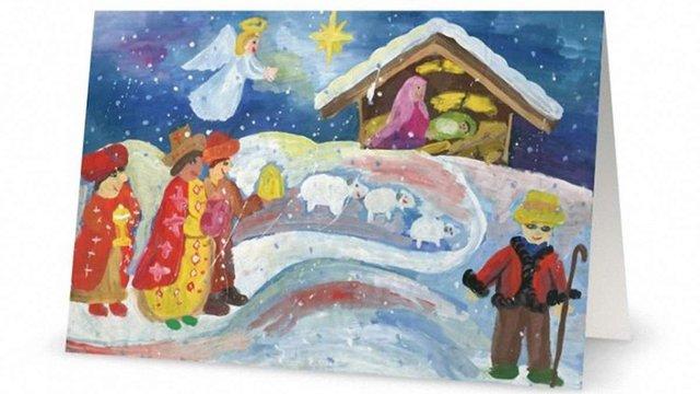 Малюнок 10-річної художниці з Львівщини з'явився на американських листівках