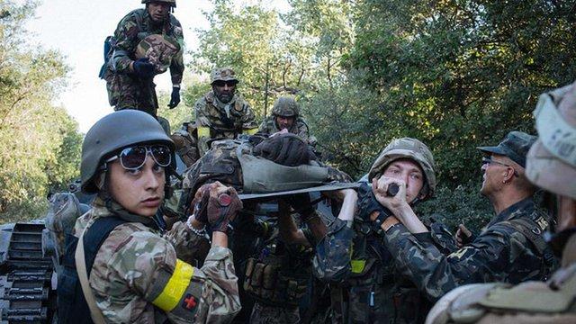 З вересня у зоні АТО загинули 162 військовослужбовці, - Генштаб