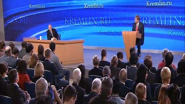 Путін не вважає складну ситуацію в економіці РФ платою за Крим