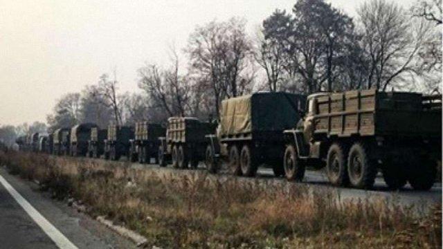Російсько-терористичні війська відходять від лінії розмежування на Донбасі